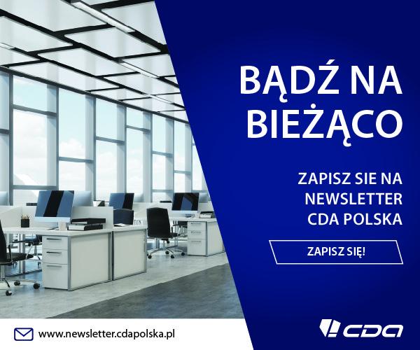Zapisz się na newsletter CDA Polska