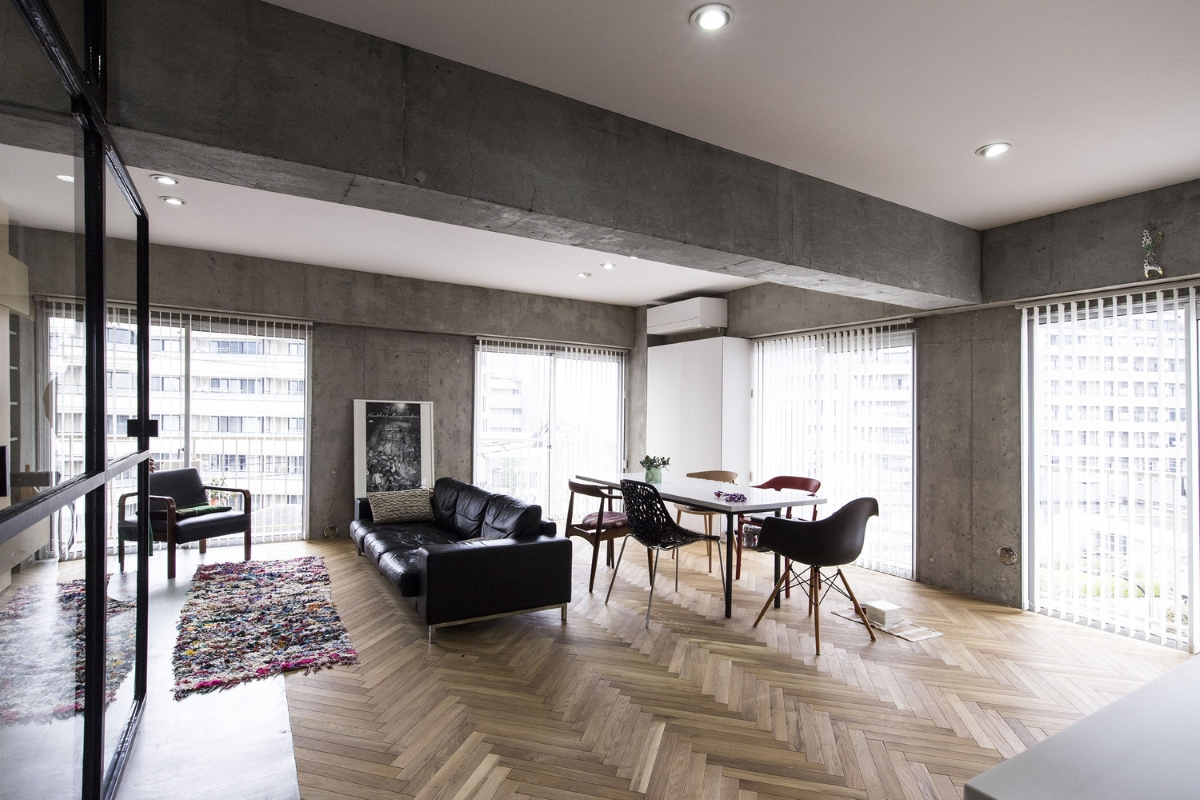 Industrialny Apartament Syncopated W Tokio Oszkle Pl Portal Cda