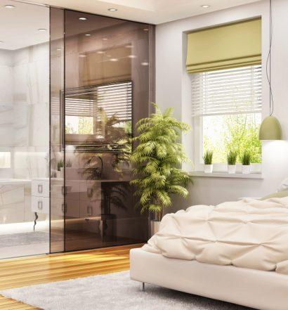 3 pomysły na przeszkloną sypialnię