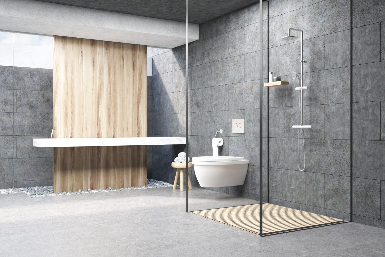 Łazienkowa czerń - okucia do kabin prysznicowych